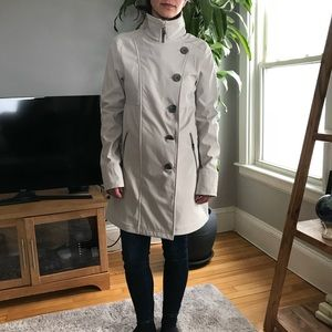 Prana jacket in cream size S